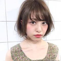 ヘアアレンジ 秋 オフィス フェミニン ヘアスタイルや髪型の写真・画像