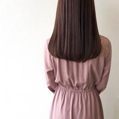 ナチュラル ナチュラルブラウンカラー ショコラブラウン 秋ブラウン ヘアスタイルや髪型の写真・画像