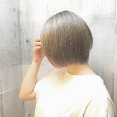 冬 ボブ ハロウィン イルミナカラー ヘアスタイルや髪型の写真・画像