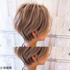 丸みショート ナチュラル ショート 大人ショート ヘアスタイルや髪型の写真・画像