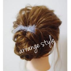 大人かわいい ゆるふわ ロング 簡単ヘアアレンジ ヘアスタイルや髪型の写真・画像