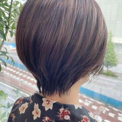 ナチュラル ショート ショートヘア ハイライト ヘアスタイルや髪型の写真・画像