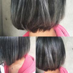 グラデーションカラー ストリート ハイライト 暗髪 ヘアスタイルや髪型の写真・画像