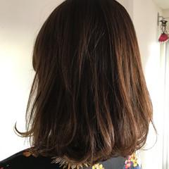 グレーアッシュ 大人女子 ボブ ナチュラル ヘアスタイルや髪型の写真・画像