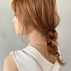 外国人風 ナチュラルベージュ 透明感カラー アンニュイほつれヘア ヘアスタイルや髪型の写真・画像