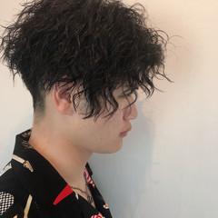ショート 黒髪 ボーイッシュ ストリート ヘアスタイルや髪型の写真・画像