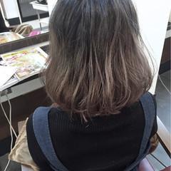 フェミニン 大人かわいい ボブ ワンカール ヘアスタイルや髪型の写真・画像