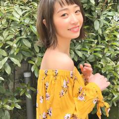 女子会 パーマ デート フェミニン ヘアスタイルや髪型の写真・画像