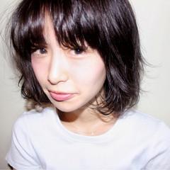 デート 女子会 ナチュラル ボブ ヘアスタイルや髪型の写真・画像
