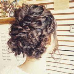 パーティ 結婚式 ロング 成人式 ヘアスタイルや髪型の写真・画像