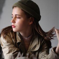 大人女子 外国人風 ミディアム 透明感 ヘアスタイルや髪型の写真・画像