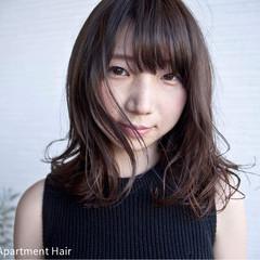 かわいい ナチュラル 秋 透明感 ヘアスタイルや髪型の写真・画像