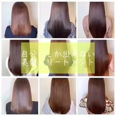 ナチュラル 最新トリートメント ロング 美髪 ヘアスタイルや髪型の写真・画像