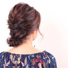 大人女子 セミロング 秋 冬 ヘアスタイルや髪型の写真・画像
