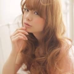 フェミニン 愛され 大人かわいい ロング ヘアスタイルや髪型の写真・画像