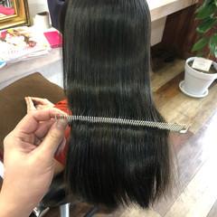 髪質改善カラー ロング 髪質改善 美髪 ヘアスタイルや髪型の写真・画像