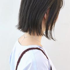 スポーツ ボブ 外ハネボブ ストレート ヘアスタイルや髪型の写真・画像