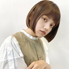 ボブ ショートボブ タッセルボブ 韓国ヘア ヘアスタイルや髪型の写真・画像