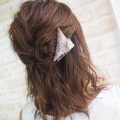 色気 ショート ゆるふわ 簡単ヘアアレンジ ヘアスタイルや髪型の写真・画像
