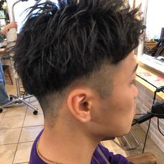 メンズヘア メンズ ショート ストリート ヘアスタイルや髪型の写真・画像