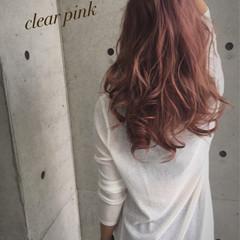 渋谷系 ゆるふわ ガーリー ロング ヘアスタイルや髪型の写真・画像