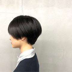 簡単 ジェンダーレス 小顔 似合わせ ヘアスタイルや髪型の写真・画像