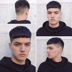 メンズショート メンズヘア メンズ ストリート ヘアスタイルや髪型の写真・画像