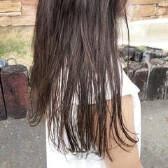 デート ロング エフォートレス ナチュラル ヘアスタイルや髪型の写真・画像
