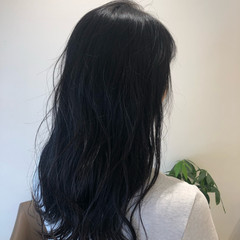 ナチュラル おしゃれさんと繋がりたい 透明感カラー 暗髪 ヘアスタイルや髪型の写真・画像