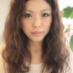 セミロング 外国人風 ブラウン アッシュ ヘアスタイルや髪型の写真・画像