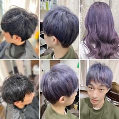 ショートヘア ストリート ショート ブリーチオンカラー ヘアスタイルや髪型の写真・画像