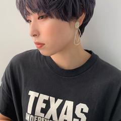丸みショート ショートボブ ショート ショートヘア ヘアスタイルや髪型の写真・画像
