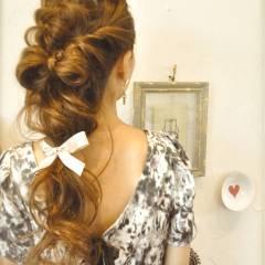外国人風 ヘアアレンジ ゆるふわ 愛され ヘアスタイルや髪型の写真・画像