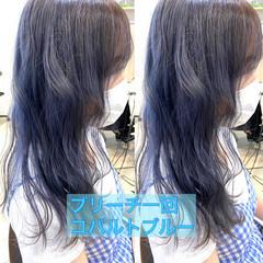 ハイトーン ガーリー ミディアム ハイトーンカラー ヘアスタイルや髪型の写真・画像