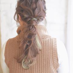 ヘアアレンジ 外国人風 大人かわいい ハイライト ヘアスタイルや髪型の写真・画像