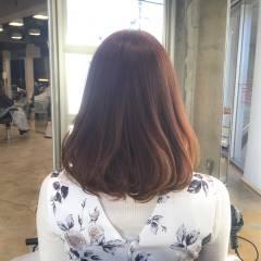 モテ髪 おフェロ ミディアム ガーリー ヘアスタイルや髪型の写真・画像
