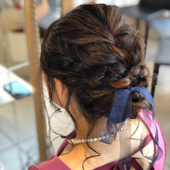 結婚式 ブリーチ ヘアアレンジ ナチュラル ヘアスタイルや髪型の写真・画像