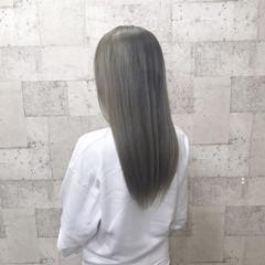 ロング 外国人風カラー ブリーチ モード ヘアスタイルや髪型の写真・画像