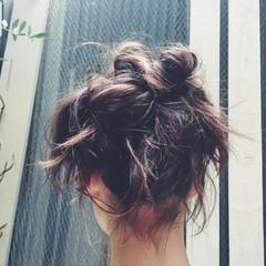 ゆるふわ ショート パーマ ミディアム ヘアスタイルや髪型の写真・画像