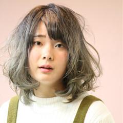 ゆるふわ 外国人風 ガーリー アッシュ ヘアスタイルや髪型の写真・画像