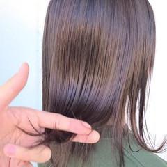 360度どこからみても綺麗なロングヘア ナチュラル セミロング 艶カラー ヘアスタイルや髪型の写真・画像