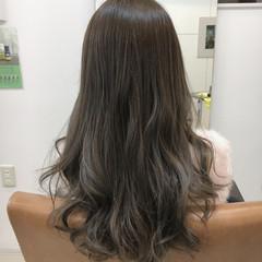 ミディアム ハイライト ガーリー フェミニン ヘアスタイルや髪型の写真・画像