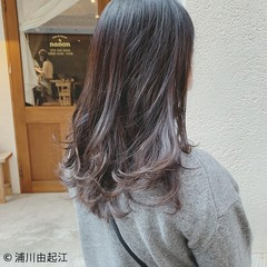 デート 秋冬スタイル ロング ゆるふわ ヘアスタイルや髪型の写真・画像