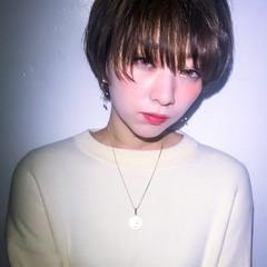 マッシュ 可愛い ショート 大人かわいい ヘアスタイルや髪型の写真・画像
