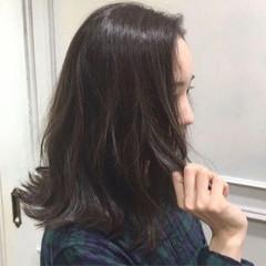 ゆるふわ ミディアム 外国人風 大人かわいい ヘアスタイルや髪型の写真・画像