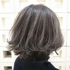 ストリート 大人女子 ボブ 外国人風 ヘアスタイルや髪型の写真・画像