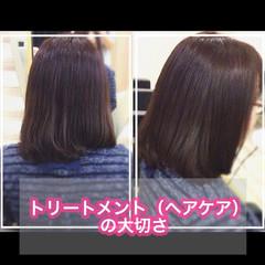 髪質改善 大人ロング うる艶カラー 髪質改善トリートメント ヘアスタイルや髪型の写真・画像