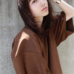 くせ毛風 ストリート ミディアム 外国人風 ヘアスタイルや髪型の写真・画像