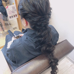 可愛い 大人可愛い ヘアアレンジ ロング ヘアスタイルや髪型の写真・画像