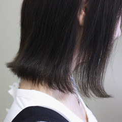 ミディアム ボブ ロブ 外国人風カラー ヘアスタイルや髪型の写真・画像